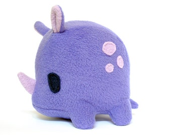 Super Purple Rhino Plush
