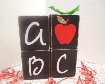 Teacher ABC 4 Block Stacker II