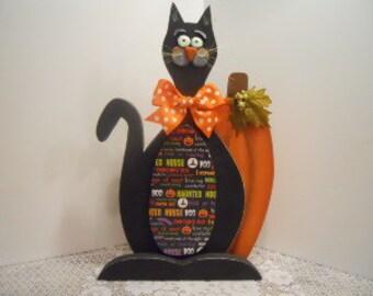 CAT, Stanley, Black, Halloween, FFFOFG, Fraidy Cat