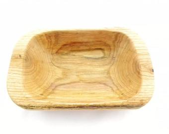 Wood Bowl, Wooden Bowl, Wood Oak Bowl, Wooden Oak Bowl, Hand Carved Bowl, Natural Wood Bowl, Natural Wooden Bowl, Food Safe Wood Bowl