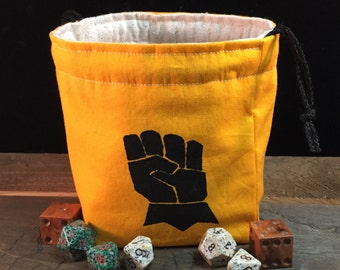 Armored Fist Dice Bag