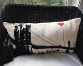Brooklyn Bridge Rectangular Canvas Throw Pillow