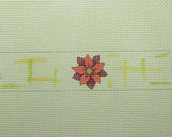 Little Flowers Needlepoint Belt*