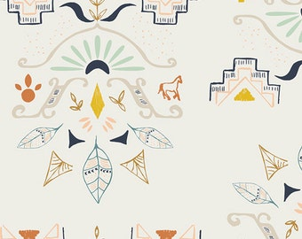 Temple of Allanque  WAN-23302 - WANDERER by April Rhodes - Art Gallery Fabrics  - By the Yard