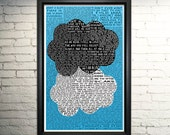 Fault in our Stars Art Movie Poster - TFIOS Print
