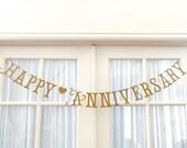 NEW.  SHIPS PRIORITY.  Happy Anniversary.  Wedding Anniversary.  Golden Anniversary.  Decorations.  Photo Prop.  50 Years.  5280 Bliss.