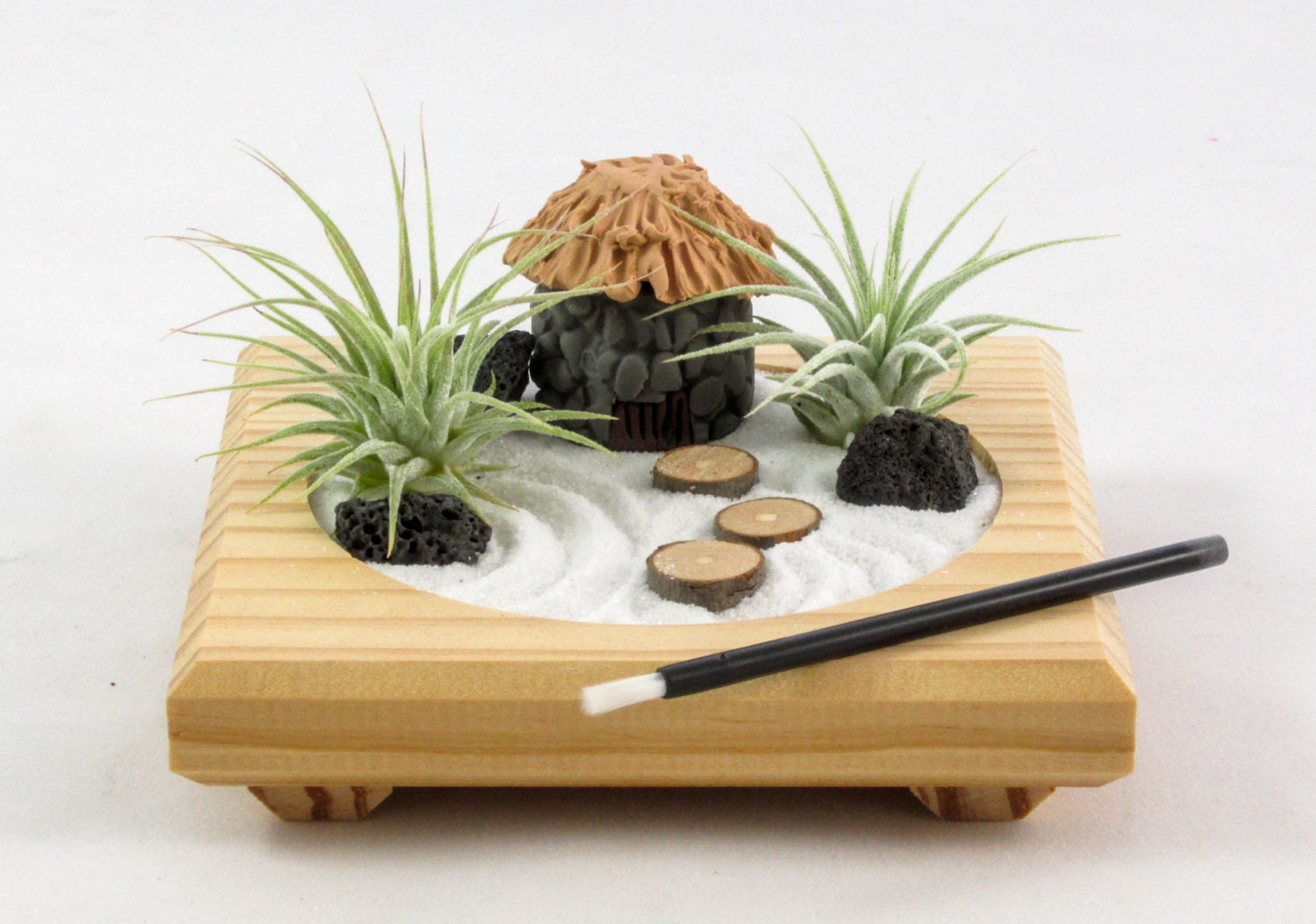 miniature zen garden by midnight blossom made from. Black Bedroom Furniture Sets. Home Design Ideas