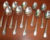 Oneida Vintage silverware in Impulse Pattern Gala stainless flatware BiN 31