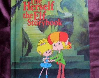 The Herself the Elf Storybook 1983 Lisa Norby