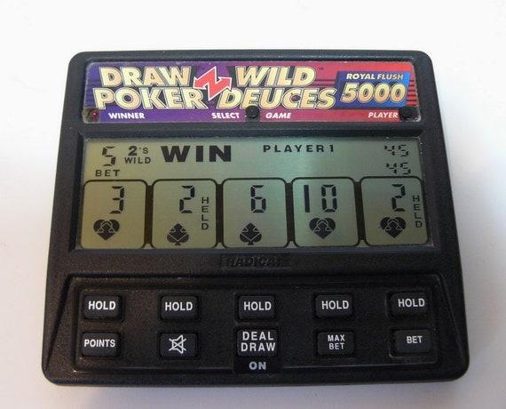 radica hand held poker machine