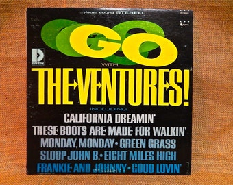 The Ventures - Go with The Ventures - 1966 Vintage Vinyl Record Album