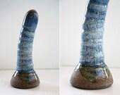 High Fire Fine Art Ceramic Dildo 1001