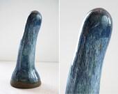 High fire fine art ceramic dildo 1004