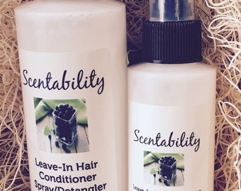 Leave In Hair Conditioner Detangler 4 oz Bottle