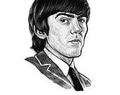 George Harrison Print...