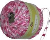 Sparkly Trail Ladder Trellis Yarn col 727 Pink multi