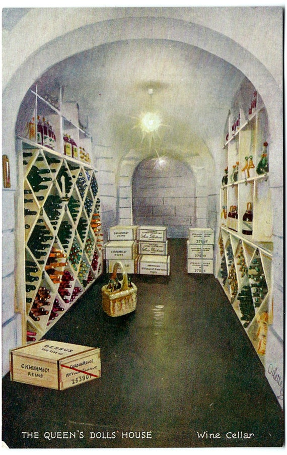 queens dolls house wine cellar tuck oilette by oakwoodview