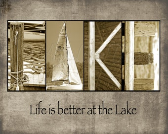 Lake Alphabet Photography Letter Photos