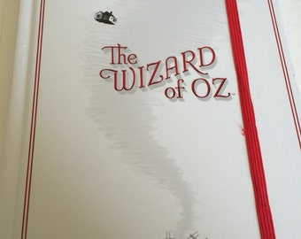 Wizard Of Oz Lined Notebook