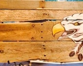 Eagle pallet art