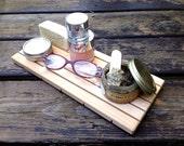 XL Cedar Natural Wood Spa Soap Deck Custom Sizing EXTRA LARGE  Eco Friendly
