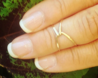 Thin Gold Band, Gold Band, Hug Ring, Mother Daughter Ring, Ring, Gold Ring, Stacking Ring, Promise Ring