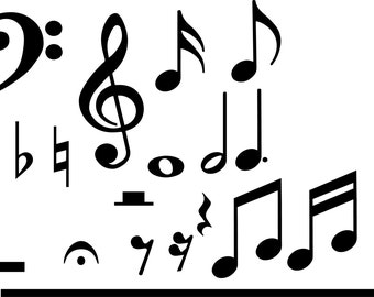 Music Symbols SVG Collection
