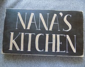 Nana's Kitchen Wall Hanging