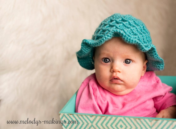 Little explorer hat crochet pattern baby toddler bucket hat all