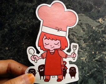 The Little Chef Stickers