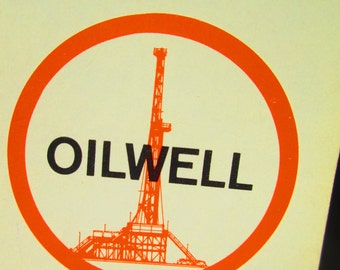 Vintage Oilwell Deck of Playing Cards.Equipping Energy Industries.  Y-248