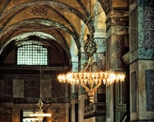 Istanbul photography, chandelier photography, large art print, travel photography - Dream Sequence