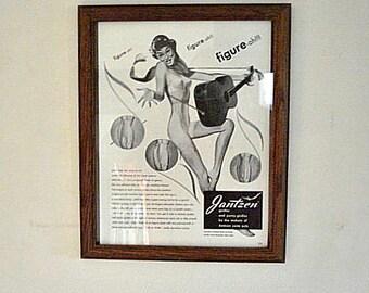 Jantzen Ad, Jantzen Girdles Ad, Woman's Underwear Ad, Swim Suit ad, Vintage Jantzen Ad,Ladies Fashions Ad,Jantzen,Ladies Clothing Ad,Clothes
