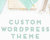 Custom Wordpress Template - Responsive Design