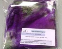 Hand-dyed Silk Hankies