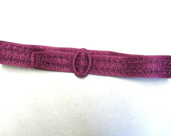 Cinch Purple Belt Wide Waist Corset