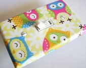 OWLS Light Switch Cover Plate Switchplate Nursery Decor