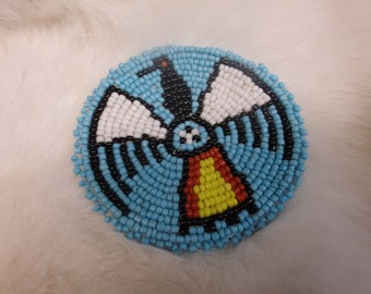 Thunder Bird Beaded Applique