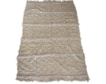Vintage Moroccan Wedding Blanket - Hala