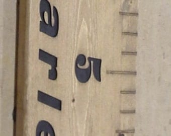 Custom Ruler or Growth Chart.