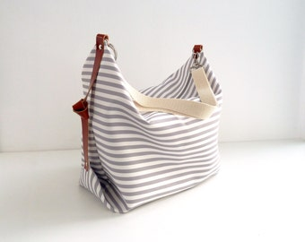 Maxi Bag, messenger bag, diaper bag Marina Grey