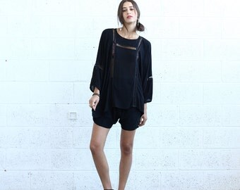 Breeze Tunic , Black