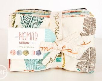 Nomad Fat Eighth Bundle, Urban Chiks, Moda Fabrics, Precuts, 31100F8