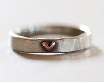Heart Ring / Graduation Gift / Ring / Wife Gift / Love / Girlfriend Gift / Gift for Her / Anniversary Gift / Unique / Love Jewelry
