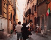 Two Loves in Italy Origianl Oil Painting by Marlene Kurland  18 x 28