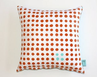 Mod Dots - Linen Pillow, Modern Home Decor