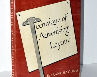 Frank H. Young - Advertising Layout - 1946 - Vintage Color Ads - Profusely Illustrated - Full-page Plates