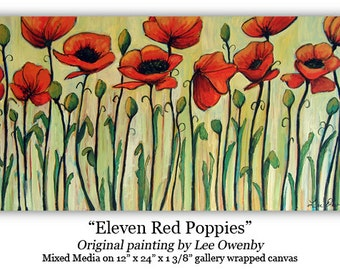Eleven Red Poppies