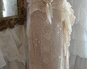 Lace dress, slip dress, wedding, gypsy, mori girl, boho