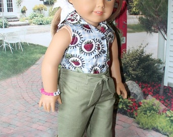 SALE American Girl 1950's Pedal Pusher outfit great for Maryellen